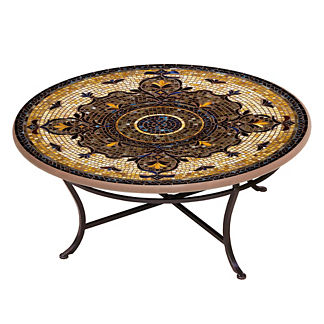 Almirante Round Single-Tiered Coffee Table