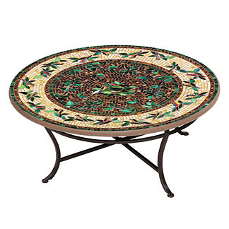 Finch Round Single-Tiered Coffee Table