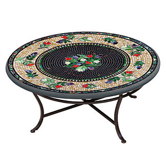 Maritz Round Single-Tiered Coffee Table