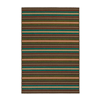 Tommy Bahama Seaside Stripe Outdoor Rug