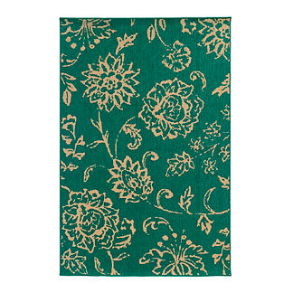 Tommy Bahama Seaside Floral Outdoor Rug