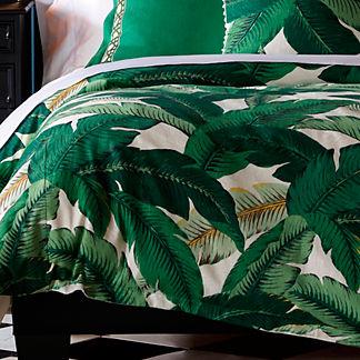 Lanai Palm Duvet Cover