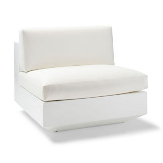 Milo Armless Center Chair Cover