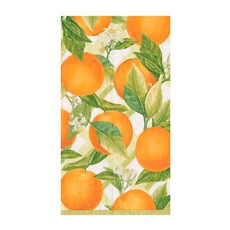 Caspari Orangerie Guest Towel