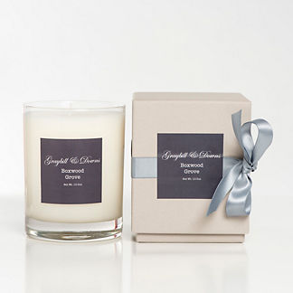 Graybill & Downs Glass Candle