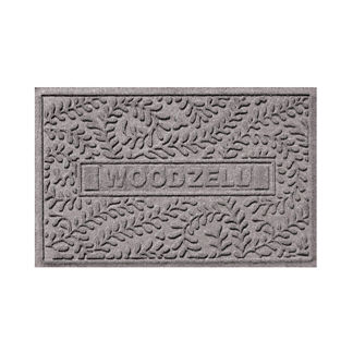 WATER & DIRT SHIELD ™ Personalized Boxwood Mat