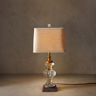 Parisian Glass Lamp