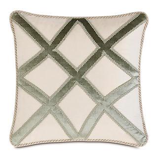 Ezra Trellis Applique Decorative Pillow