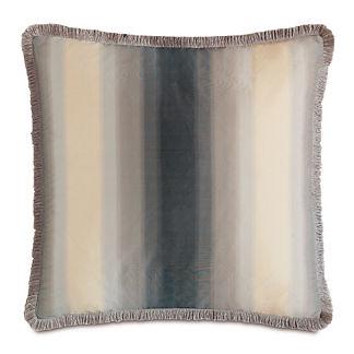 Ezra Brush Fringe Decorative Pillow