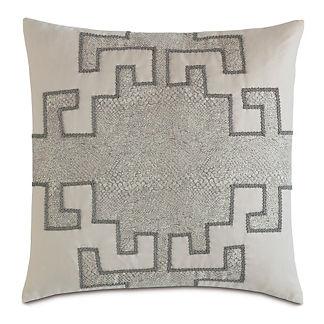 Ezra Smoke Decorative Pillow