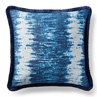 Caravan Marine Brush Fringe Decorative Pillow