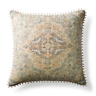 Cyprus Decorative Pillow with Looped Trim
