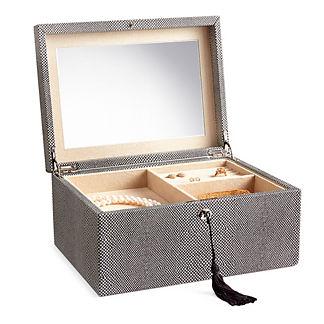 WOLF Shagreen Jewelry Box