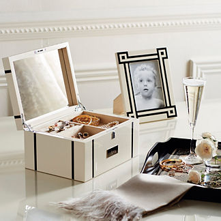 WOLF Lacquer Jewelry Box