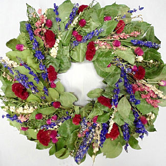 Camelot Garden Dried Wreath