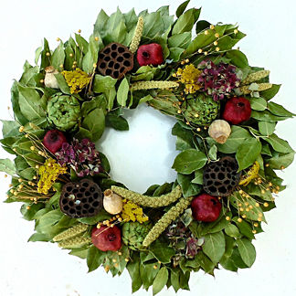Nature's Opulence Dried Wreath