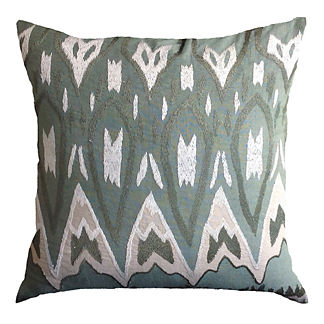 Tunis Ikat Decorative Throw Pillow