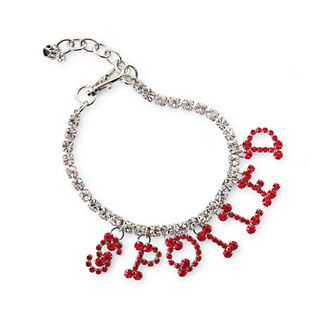 Crystal Necklace Dog Collar