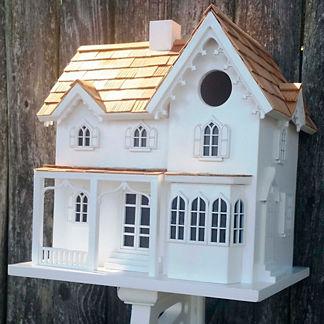 Ornamental Farmhouse Birdhouse
