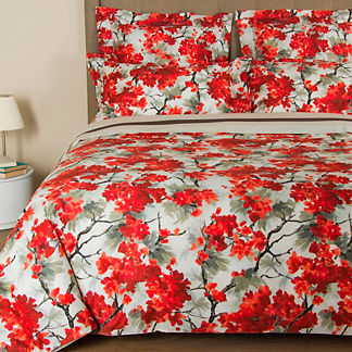 Frette Flowery Print Duvet Cover
