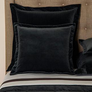 Frette Velvet Moonlight Euro Pillow Sham
