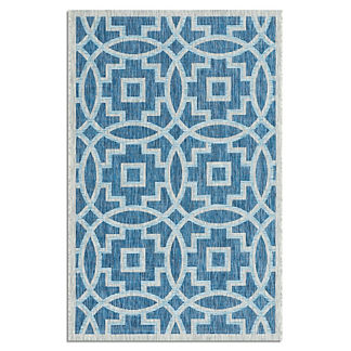 St. Lucia Tile Indoor/Outdoor Rug