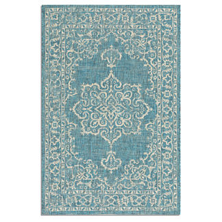 St. Lucia Medallion Indoor/Outdoor Rug