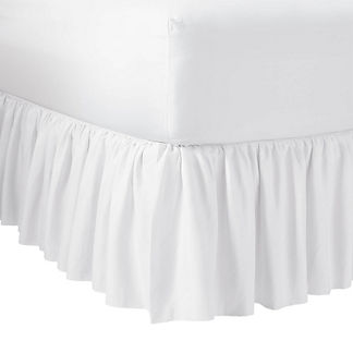 Magnolia Filly White Bed Skirt