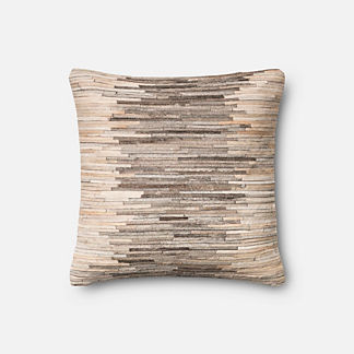 Gia Hide Decorative Pillow