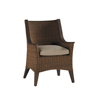 Royan Dining Arm Chair with Cushion by Summer Classics