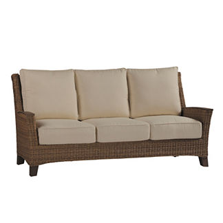 Royan Sofa with Cushions and Two Pillows by Summer Classics