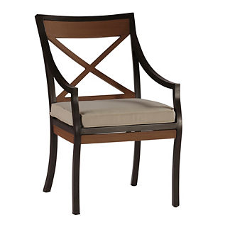 Belize Arm Chair with Cushion by Summer Classics