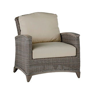 Astoria Wicker Lounge Chair with Cushions by Summer Classics