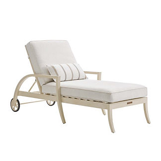Misty Garden Chaise Lounge with Cushions by Tommy Bahama