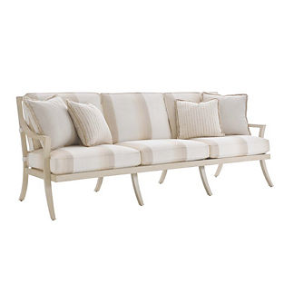 Misty Garden Sofa with Cushions by Tommy Bahama