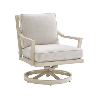 Misty Garden Swivel Rocking Lounge Chair with Cushions by Tommy Bahama