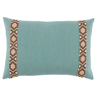 Camden Linen Decorative Lumbar Pillow