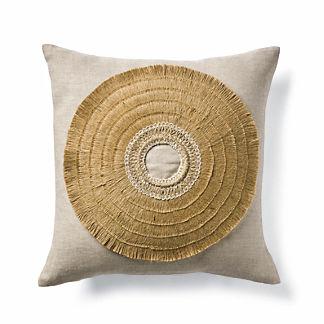 Esi African Shield Decorative Pillow