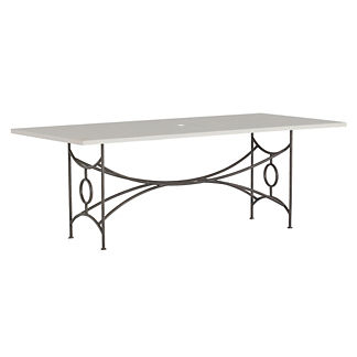 Trestle Dining Table by Summer Classics