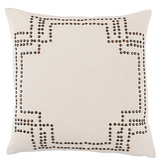 Everett Nailhead Decorative Pillow