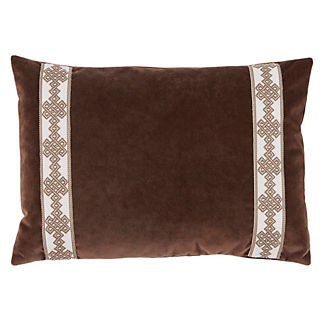 Amalfi Velvet Decorative Lumbar Pillow