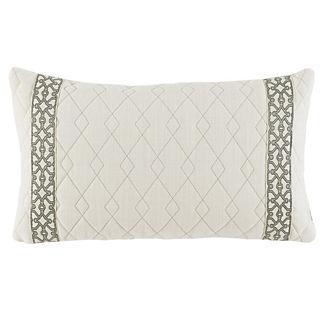 Florence Quilted Decorative Lumbar Pillow