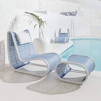 Amalfi Lounge Chair Cover