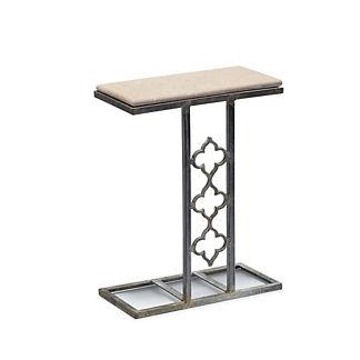 Mia Quatrefoil End Table