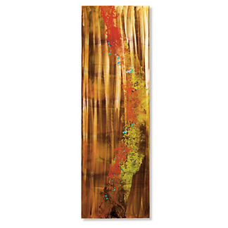 Sunset Wave II Copper Outdoor Wall Art