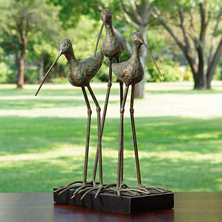 Sandhill Cranes Statue
