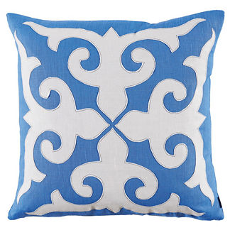 Mosaic Applique Decorative Pillow