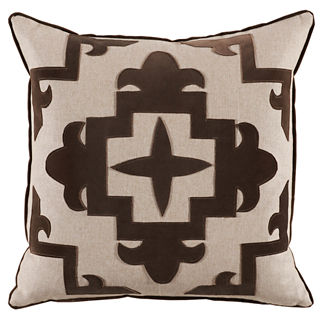 Sultana Applique Decorative Pillow