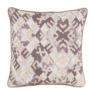 Shibori Print Decorative Pillow