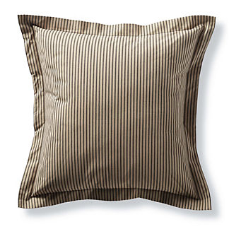 Heirloom Ticking Stripe Euro Sham
